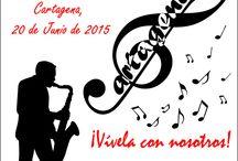 Fiesta de la Música 2015 / Primer año que nos unimos a esta celebración mundial de la Música. Fue el proyecto de personal de nuestra voluntaria europea Angelique Medina-Hernandez y de su mano nos imbuimos de la alegría y, por supuesto, de la fiesta que representa este evento. Una maravillosa manera de dar la bienvenida al verano.
