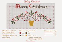 Punto croce  / Free Natale