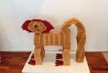 KAPLA Animals / What kind of animal can you build using KAPLA blocks?