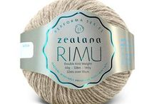 Zealana RIMU DK / Zealana RIMU DK is a sumptuous blend of 60% fine New Zealand merino and 40% brushtail possum. It's gorgeously colorful, machine washable and resists pilling.