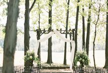 wedding in nature