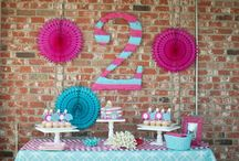 2nd birthday party ideas / by Natalie Singles