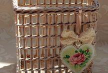 azurowy koszyk
