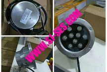 Lampu LED Underwater / Air Mancur 9 Watt 24 Volt IP 68