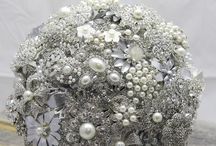 Silver / Wedding Ideas & Inspiration relating to the colour silver