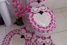 lechuza de rosa