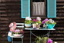 Gardens, porches and patia ideas / Zahradní inspirace