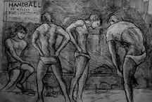 Lockroom / sportifs vestiaires