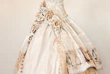 Paper wedding dress idea