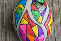 stained glass rock