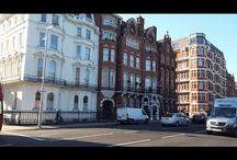 London: Kensington Street. Strada Kensington din Londra. Улица Кенсингтон в Лондоне.