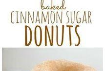 bake cinnamon doughnut