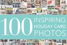 100 Inspiring Holiday Card Photos  / Have fun planning this year's holiday card. To help you get started we've collected 100 inspirational family photos showcasing various backdrops, props, poses and more.