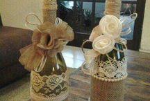 dárkové obaly na lahve