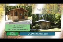 Commercial / Check out our commercial on WHAG!  Ole Mink Farm Recreation Resort is located in the Catoctin Mountains of Thurmont, Maryland