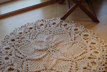 tapis / plaid  au crochet