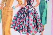 moda lata 1940-1950