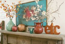 Fall Decor / by Mary Kropog