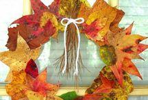 hojas decoracion