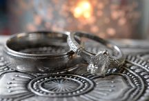 Wedding Rings / Wedding rings as photographed by San Francisco Bay Area wedding photographer Grier Cooper.
