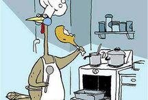 pollos humor