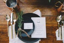 Retreat wedding table