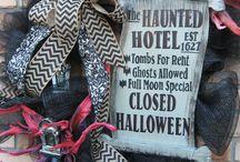 fall / décor for fall or Halloween