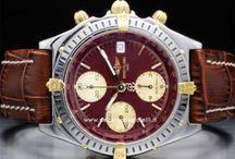 Breitling Chronomat / Nel 1915 Gaston Breitling eredita la direzione aziendale dal padre e crea il primo cronografo da polso: a breve inizierà a fornire i primi strumenti da polso agli aviatori e ,come dimostra l'importante collaborazione datata 1936...