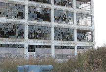 abandoned things detroit