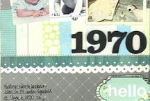 "Concepts: Century Scrapbook Project / Katie Scott's ""The Century Scrapbook Project""  A scrapbook album with one page per year from 1900-present. / by Katie Scott"