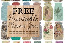 Motif- Mason Jars / scrapbook and craft inspiration featuring mason jars