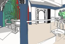 Réalisation du projet La Morada - MRC Architecte et Paysagiste / La Morada, restaurant mexicain et MRC Architecte d'intérieur et Paysagiste Découvrez notre histoire sur notre blog: https://petale-de-carreaux.fr/lhistoire-de-morada-mrc-architecte-paysagiste