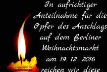 In Gedenken an die Opfer