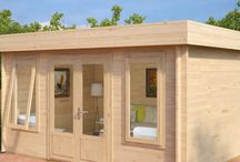 Modern Summer Houses & Garden Cabins / Elegant & modern looking summer houses, leisure buildings and garden cabins to buy