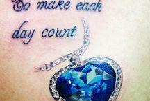 tattoos / by Mandi House