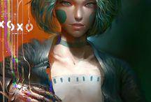 Cyberpunk personaggi