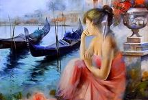 Lovilla Chantal paintings