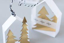 Papier basteln Weihnachten