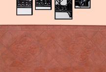 Zócalos cerámicos / Revestimientos cerámicos para exterior e interior. Fabricado y diseñado por Gres de La Mancha.