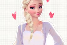 What princesses look like in modern clothes / Sooooo cool