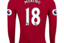 Billige Liverpool trøje / Køb Billige Liverpool trøje 2016-17,Liverpool fodboldtrøjer,Liverpool hjemmebanetrøje,udebanetrøje,3. trøje 16-17 udsalg med navn.