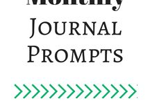 Creative writing / Journaling prompts