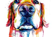 Dog art / Homework for 18/11/2016