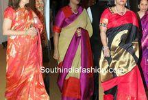rose sarees