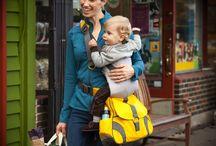 Sidekick Diaper Bag Baby Carrier / Pictures of the Sidekick Bag
