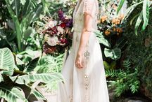 wedding dresses / Inspiring romantic bohemian dresses for the big day