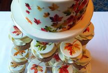 Fall Wedding Cakes / by Diane Castro