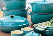 turquoise / kitchen color inspiration / by Emily Serven