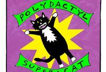 Polydactyl Super Cat Comic!