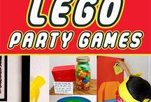 verjaardagsfeest: lego